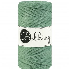 Bobbiny macrame koord 3mm Eucalyptus-green ItteDesigns