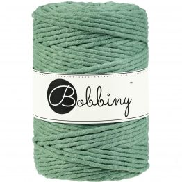 Bobbiny macrame koord 5mm Eucalyptus-green ItteDesigns