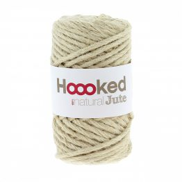 Natural Jute Vanilla Cream Hoooked Wolzolder