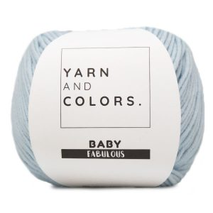 YARN AND COLORS BABY FABULOUS 063 ICE BLUE Wolzolder