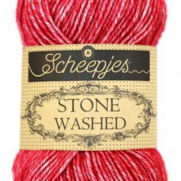 wolzolder Scheepjes Stone Washed - 807 -Red Jasper