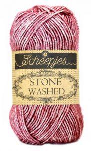 wolzolder Scheepjes Stone Washed - 808 Corundum Ruby