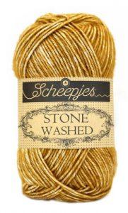 wolzolder Scheepjes Stone Washed - 809 - Yellow Jasper-2