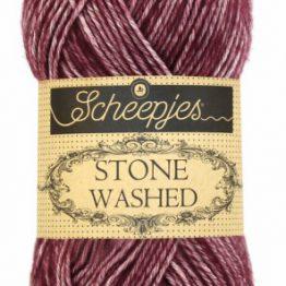 wolzolder Scheepjes Stone Washed - 810 - Garnet