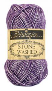 wolzolder Scheepjes Stone Washed - 811 - Deep Amethyst