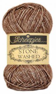 wolzolder Scheepjes Stone Washed - 822 - Brown Agate-2
