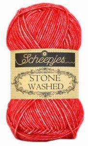 wolzolder Scheepjes Stone Washed - 823 - Carnelian