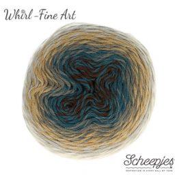 654 Cubism Whirl Fine art Wolzolder