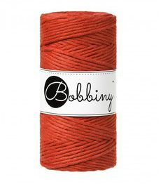 Wolzolder Bobbiny macrame 3mm Burnt Orange