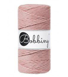 Wolzolder Bobbiny macrame 3mm Blush