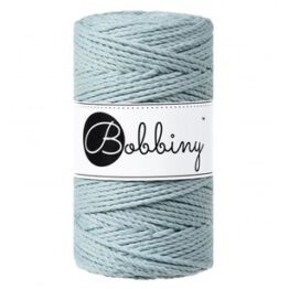 Bobbiny macrame triple twist 3 mm wolzolder Misty