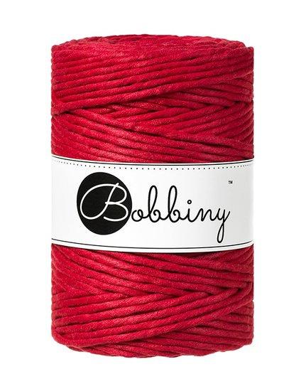 Bobbiny macrame 5mm Wolzolder Wine Red