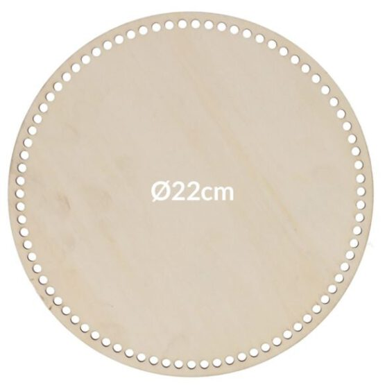 ronde tassenbodem 22cm