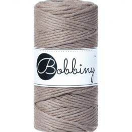 Wolzolder Bobbiny macrame 3mm Coffee